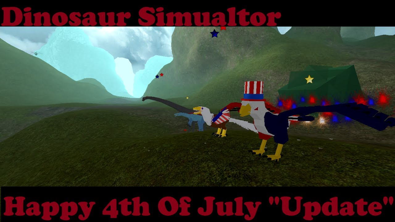 Roblox Dinosaur Simulator - New Skins! Happy 4th Of July ...