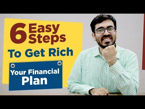 How to Manage Money and become Rich | 6 Simple steps to Get Rich | Financial Plan