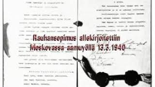 Rauhanneuvottelut ja rauha 13.3.1940