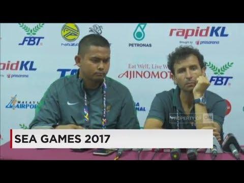 Indonesia Kalahkan Timor Leste 1-0 ; Konpers Luis Milla - Sea Games 2017