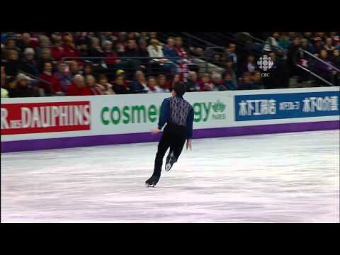 2013 World Championships Patrick Chan SP CAN CBC