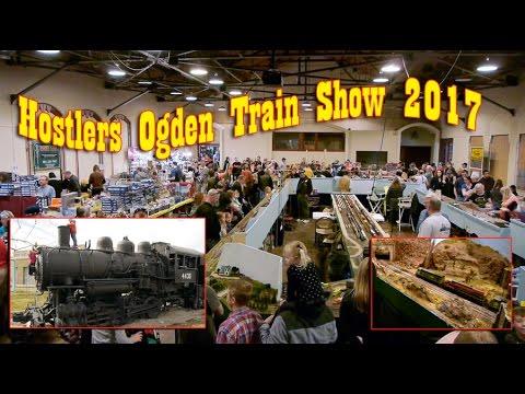 Hostlers HUGE 2017 Model Railroad Train Show at the Ogden Union Depot