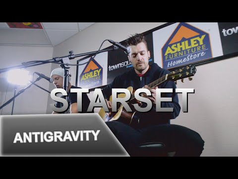 Starset Performs 'Antigravity' in the Ashley Furniture Hangout Lounge