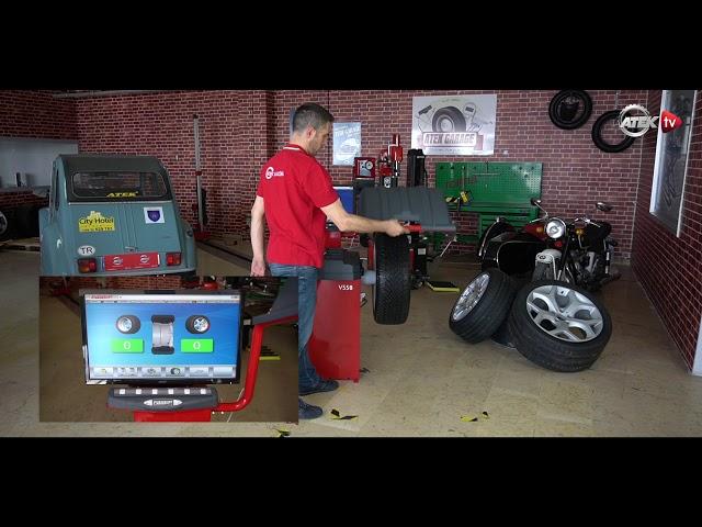 Tam Otomatik Balans Makinası Fasep V558 |Atek Makina'dan