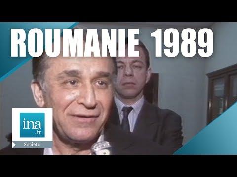La 1ère interview de Ion Iliescu après la mort de Nicolae Ceaușescu - Archive INA