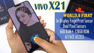 VIVO X21 - WORLD'S FIRST IN-DISPLAY FINGERPRINT SCANNER Follow me F...