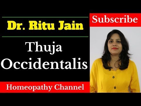Thuja Homeopathic Medicine Dose,Uses (For Warts) in Hindi - Thuja Occidentalis