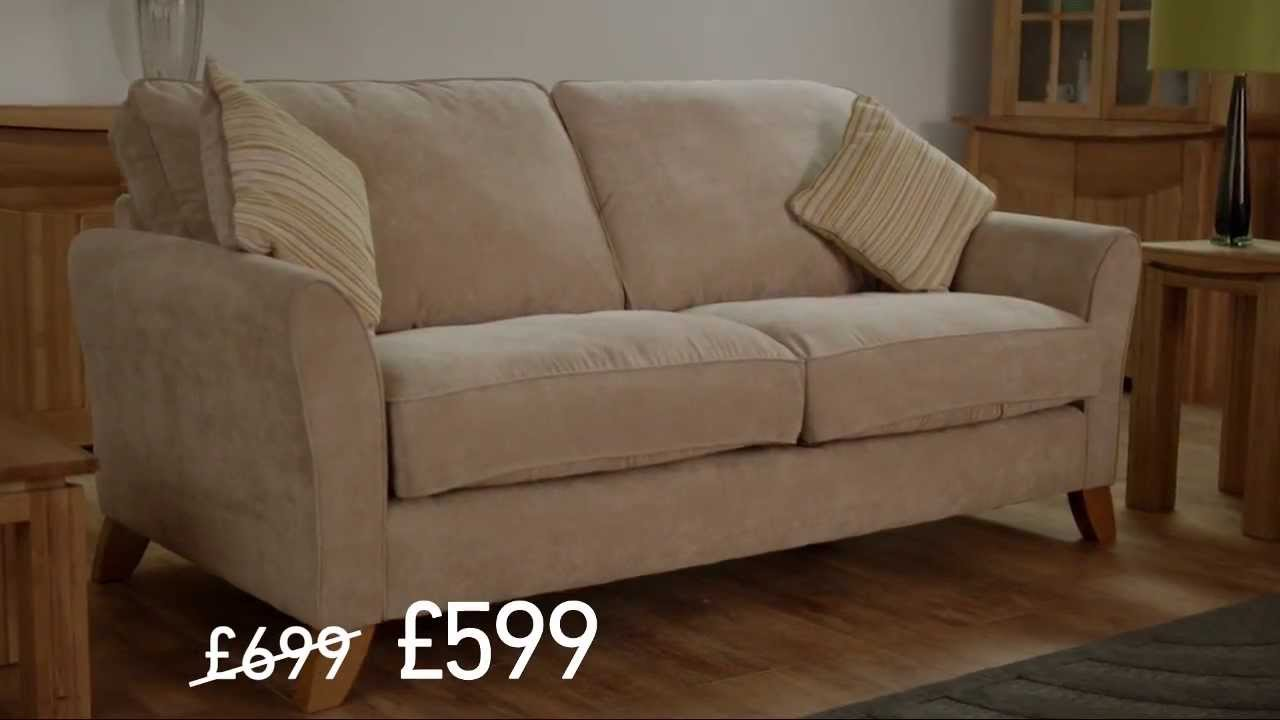 Oak Furniture Land Winter Advert 2017 Harley Sofa You