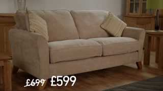 Oak Furniture Land Winter Sale Advert 2013 | Harley Sofa