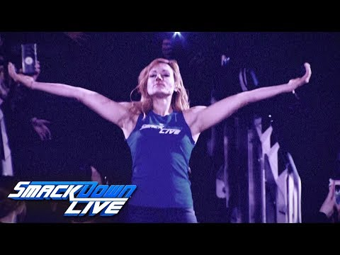 Becky Lynch injured in Raw invasion: SmackDown LIVE, Nov. 13, 2018