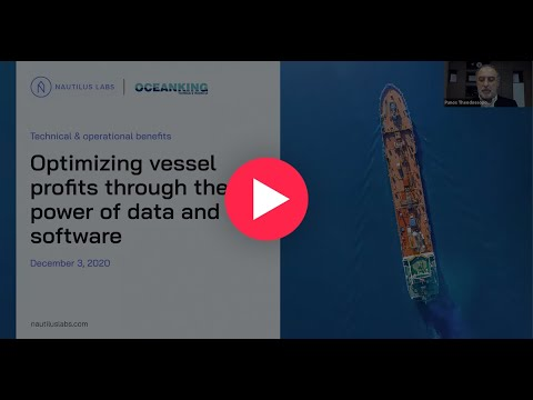Webinar: Optimizing vessel profits through the power of data and software
