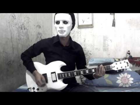 Seringai - Serigala militia (guitar cover)
