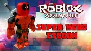 Roblox super hero tycoon xbox one ( part one )