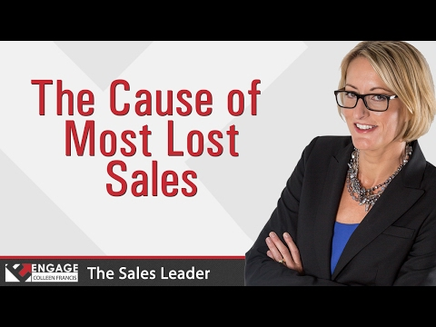 The Cause of Most Lost Sales | Sales Tips