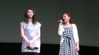 Zepp Nagoyaで行われた女性限定特別試写会。上映前に主演の香里奈と、主...
