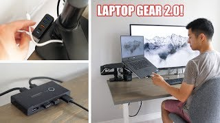 Video Must Have Laptop Accessories 2.0!  Dream Docking Station Setup download MP3, 3GP, MP4, WEBM, AVI, FLV Agustus 2018