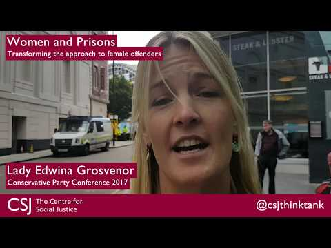 CSJ Women And Prisons Reaction: Lady Edwina Grosvenor, One Small Thing