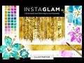 InstaGlam for Illustrator #1 - How to load and apply the gold styles