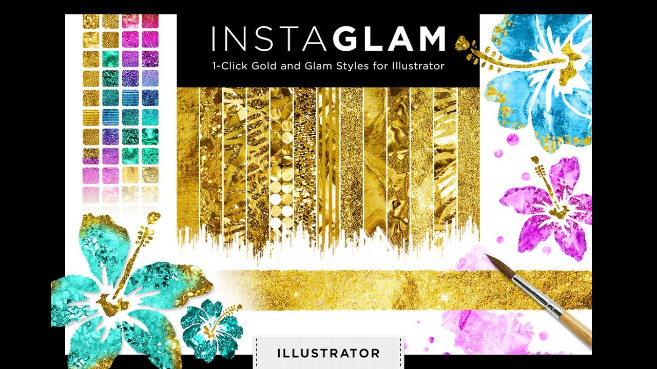 how to get gold colour in illustrator