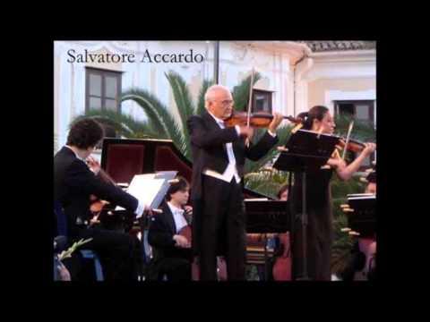 "Salvatore Accardo ""Violin Concerto No 3"" Max Bruch"