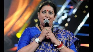 Smriti Irani Vs Shahrukh Khan at IFFI 2017 Goa