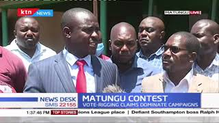 Senator Cleophas Malala accusses ODM of planning to interfere in the Matungu by-elections process