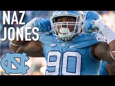 "Naz Jones    ""NFL Draft Sleeper""    North Carolina Highlights"