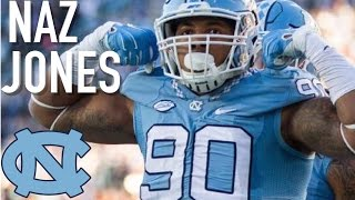 "Naz Jones || ""NFL Draft Sleeper"" || North Carolina Highlights"