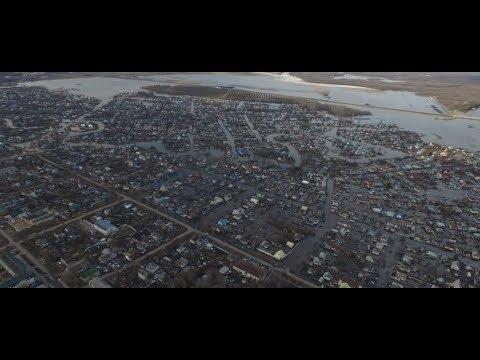 Паводок. Потоп. Новоаннинский под водой