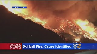 Sepulveda Pass Blaze Caused By Illegal Cooking Fire