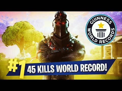 45 KILLS WORLD RECORD -  TEEQZY VS SQUAD ( FORTNITE BATTLE R