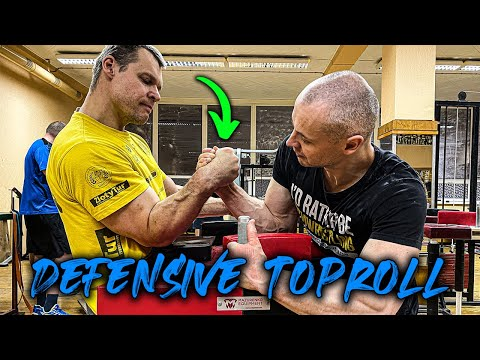Defensive Toproll Tips Arm Wrestling Table Smart