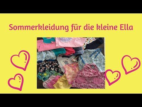 Sommerkleidung für Kinder - Ideen und Schnittmuster