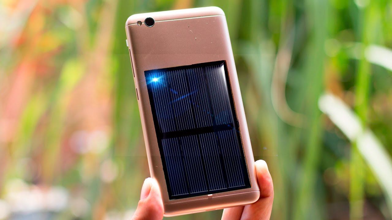 Free Energy Solar Emergency Mobile Phone Charger Diy