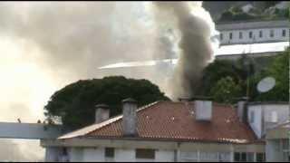 Incendio na Covilhã quase à hora de Portugal jogar com a Alemanha