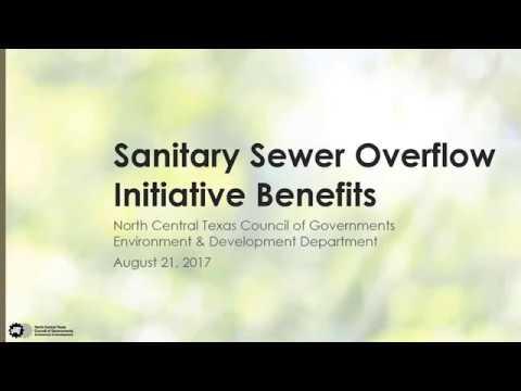 Sanitary Sewer Overflow Initiative Benefits webinar - 8-21-2017