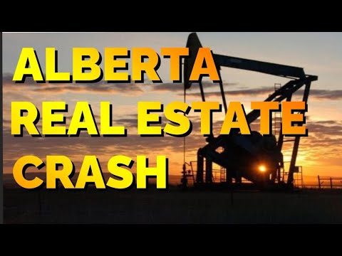 The ALBERTA REAL ESTATE CRASH | Calgary Housing Market | Real Estate Market Update