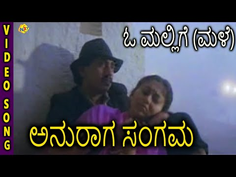 Anuraga Sangama Kannada Movie   O Mallige Ninondige Male  Shashi Kumar  Sudharani