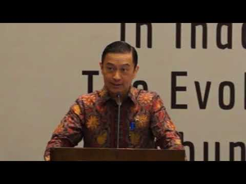 Chairman of BKPM Tom Lembong at Sadli Lecture Seminar in Jakarta, May 2th 2018