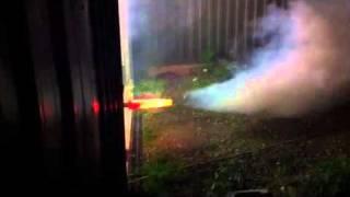 Homemade Jet Engine With Afterburner