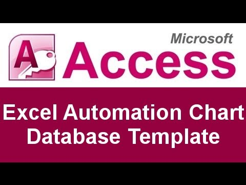 Microsoft Access Code Excel Automation Chart Database Template
