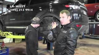 видео ремонт обслуживание land rover