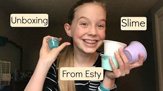 Unboxing Slime From Etsy!| Kelsey's Videos thumbnail