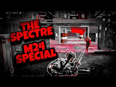 The Spectre - M24 SPECIAL PUBG MOBILE MONTAGE | BEST VELOCITY BEAT MONTAGE || PART 4 || KNIGHTRO