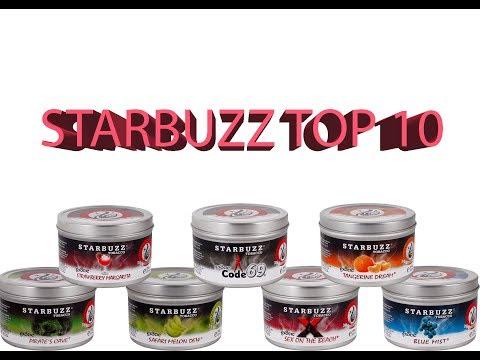 Starbuzz Shisha Tobacco Top 10 flavor countdown!