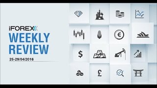 iFOREX Weekly Review 25-29/04/2016: GOLD, USD and NDQ.