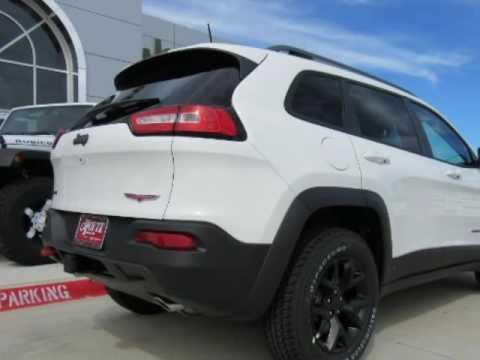 2017 jeep cherokee trailhawk new white suv for sale wilburton ok youtube. Black Bedroom Furniture Sets. Home Design Ideas