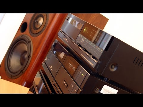 Aurex Toshiba Stereo 80-s From Japan /archive Video/