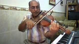 دورة تعليم الكمان الدرس الخامس