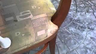Химчистка стула без воды<